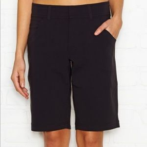 Lucy Black Walkabout Bermuda Shorts